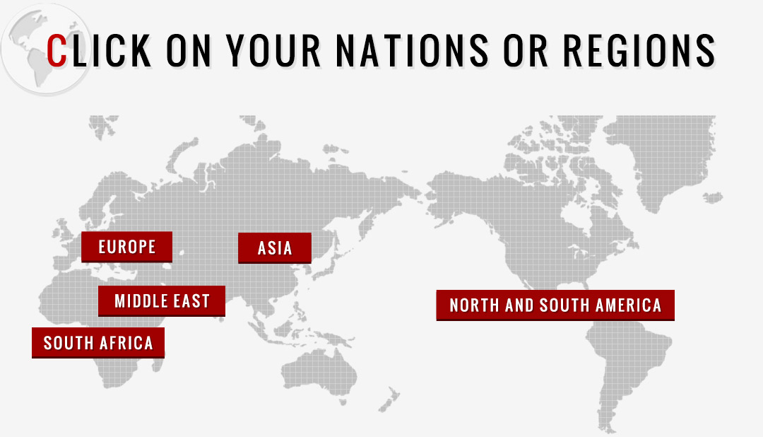 CLICK ON YOUR NATIONS OR REGIONS