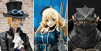 In January 31st, Kancolle Atago, Sabo (New World Ver.) and Gamera (1996) are up for sale!