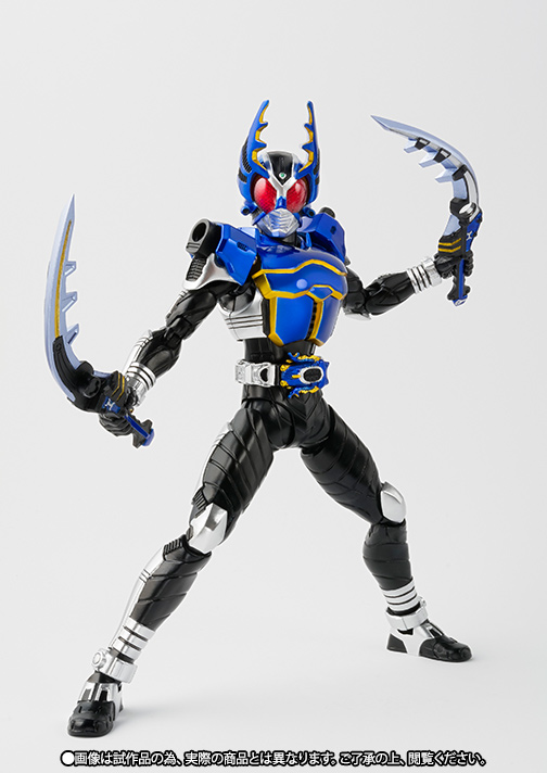 S.H.Figuarts(真骨彫製法) 仮面ライダーガタック ライダーフォーム【2016年10月発送分】 02