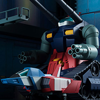 ROBOT魂 <SIDE MS> RX-75-4 ガンタンク & ホワイトベースデッキ ver. A.N.I.M.E.