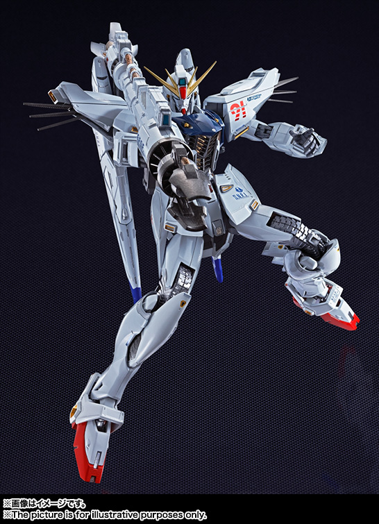 METAL BUILD ガンダムF91 01