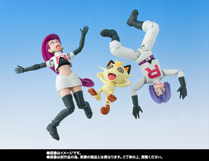 S.H.Figuarts サトシ&ロケット団(Limited Edition) 10