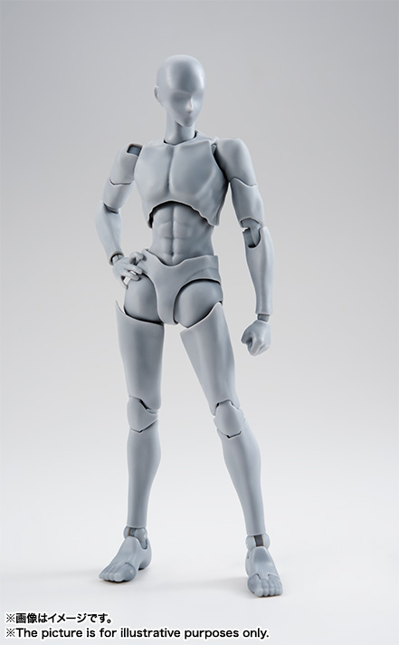 S.H.Figuarts ボディくん -宝井理人- Edition DX SET (Gray Color Ver.)  01