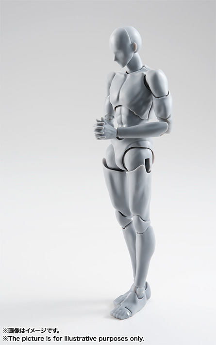 S.H.Figuarts ボディくん -宝井理人- Edition DX SET (Gray Color Ver.)  03