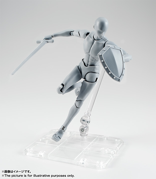 S.H.Figuarts ボディくん -宝井理人- Edition DX SET (Gray Color Ver.)  04