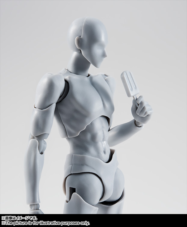 S.H.Figuarts ボディくん -宝井理人- Edition DX SET (Gray Color Ver.)  05