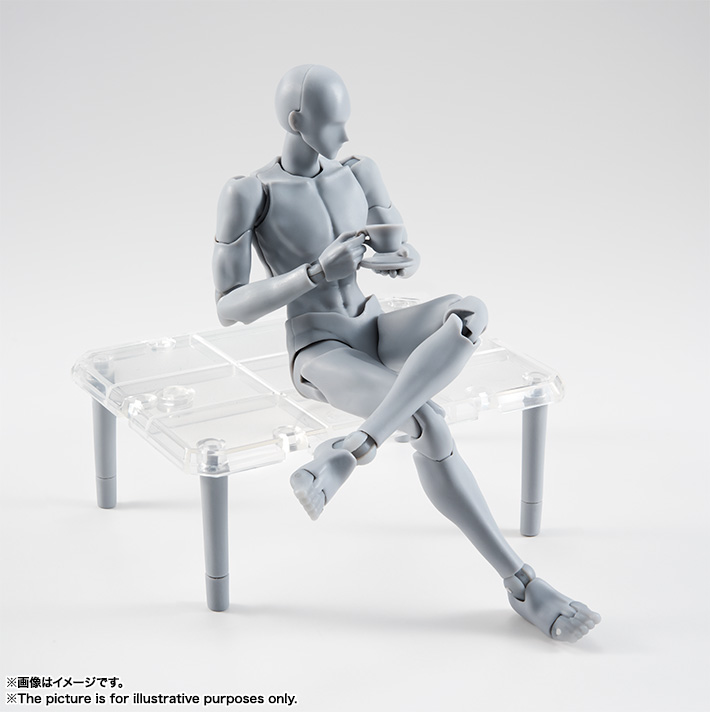 S.H.Figuarts ボディくん -宝井理人- Edition DX SET (Gray Color Ver.)  06