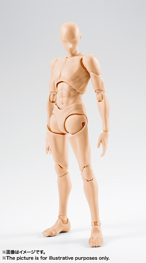 S.H.Figuarts ボディくん -宝井理人- Edition (Pale orange Color Ver.)  01