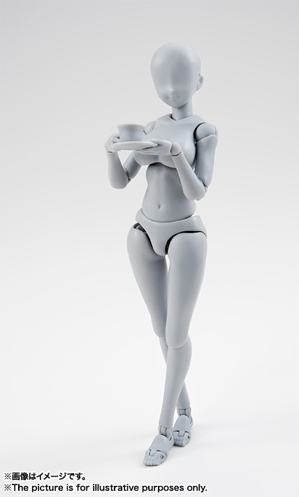 S.H.Figuarts ボディちゃん -矢吹健太朗- Edition DX SET (Gray Color Ver.) 02
