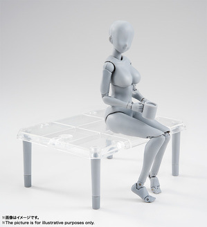 S.H.Figuarts ボディちゃん -矢吹健太朗- Edition DX SET (Gray Color Ver.) 11