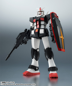 ROBOT魂 <SIDE MS> RX-78-1 プロトタイプガンダム ver. A.N.I.M.E. 01