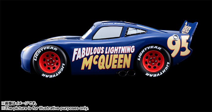 超合金 Cars Fabulous LIGHTNING McQUEEN 02