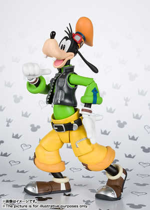 S.H.Figuarts グーフィー(KINGDOM HEARTS II) 01