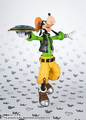 S.H.Figuarts グーフィー(KINGDOM HEARTS II) 08