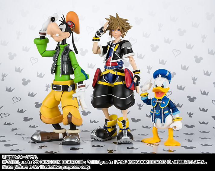 S.H.Figuarts グーフィー(KINGDOM HEARTS II) 10