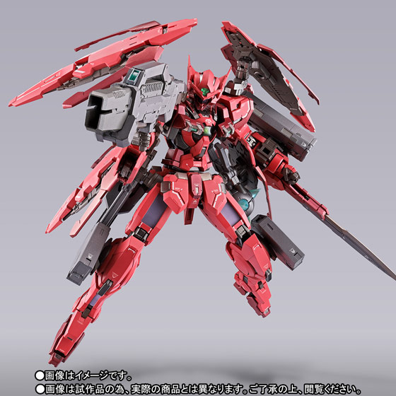 METAL BUILD ガンダムアストレア TYPE-F (GN HEAVY WEAPON SET) 01