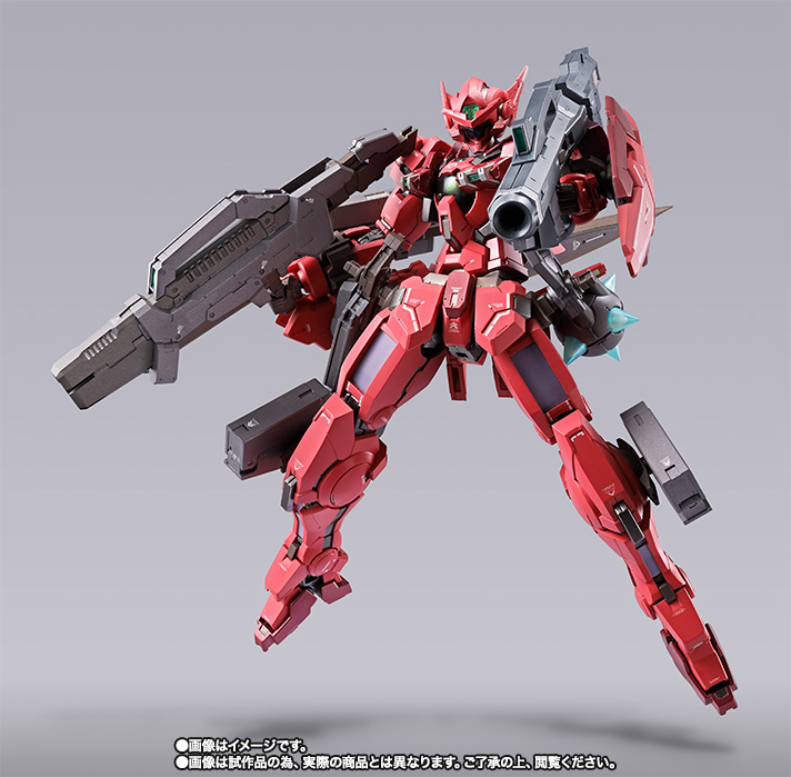 METAL BUILD ガンダムアストレア TYPE-F (GN HEAVY WEAPON SET) 16