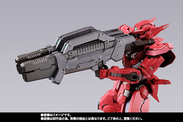 METAL BUILD ガンダムアストレア TYPE-F (GN HEAVY WEAPON SET) 17
