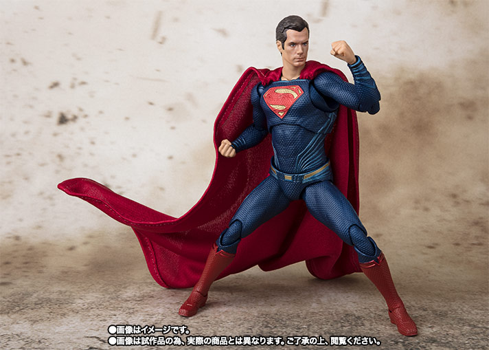 S.H.Figuarts スーパーマン (JUSTICE LEAGUE) 06