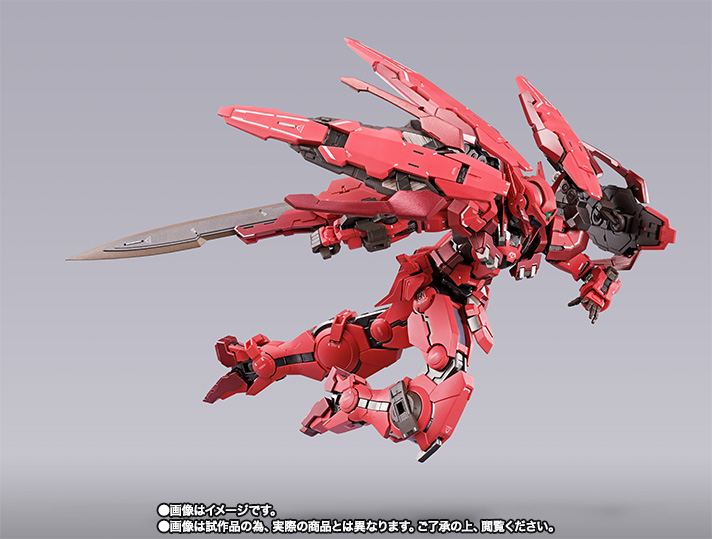 METAL BUILD METAL BUILD ガンダムアストレア TYPE-F (GN HEAVY WEAPON SET)【2次:2018年7月発送】 02