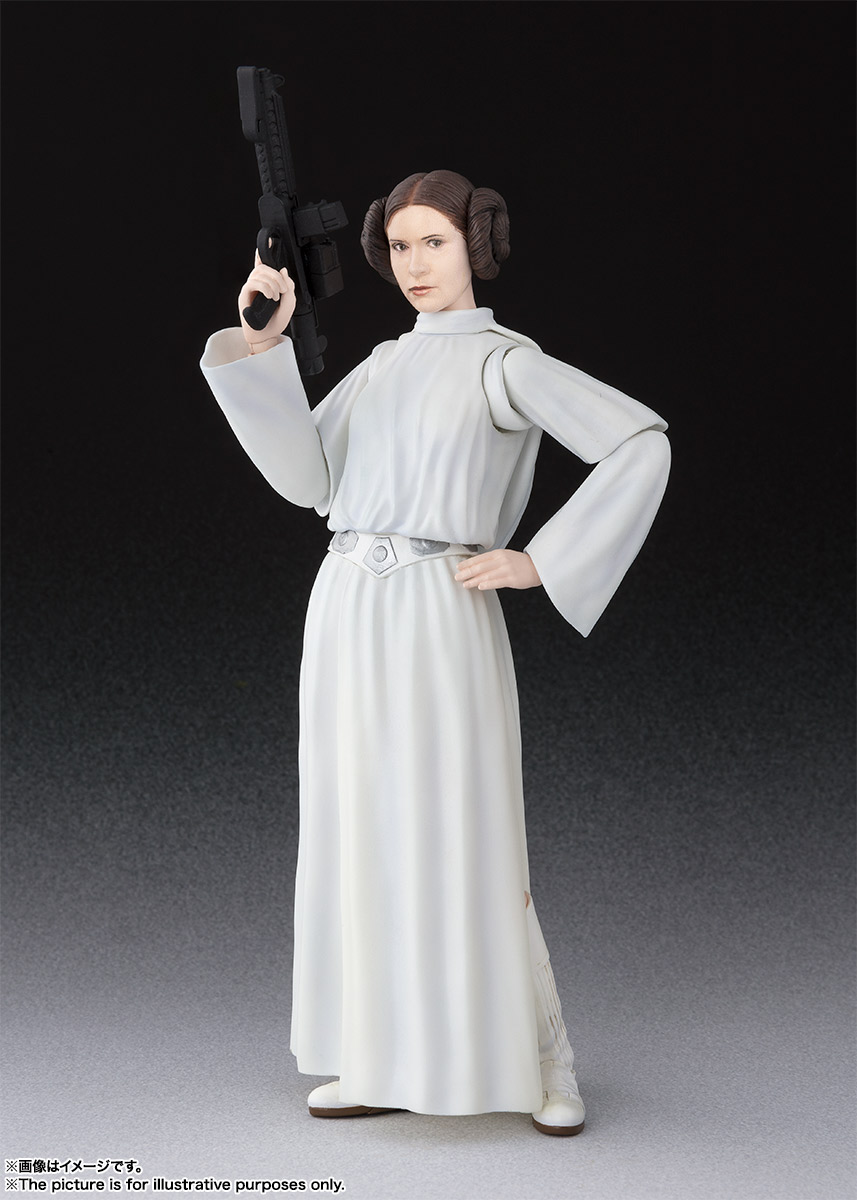 S.H.Figuarts プリンセス・レイア・オーガナ(STAR WARS:A New Hope) 01