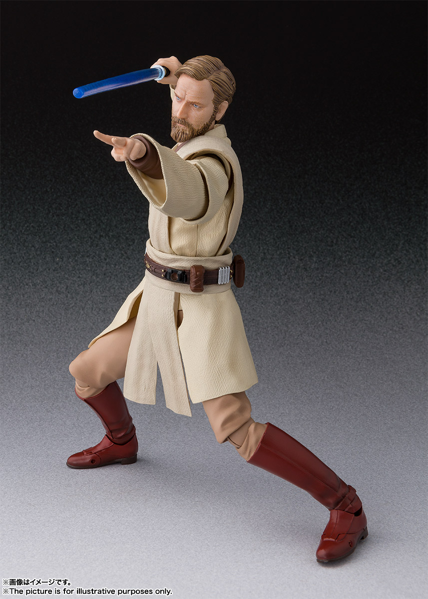 S.H.Figuarts オビ=ワン・ケノービ(STAR WARS:Revenge of the Sith) 04