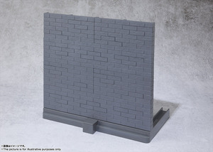 魂OPTION Brick Wall(Gray ver.) 02