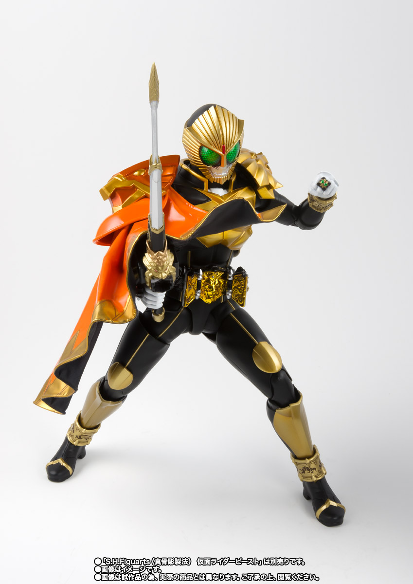 S.H.Figuarts(真骨彫製法) 仮面ライダービースト マントセット 03