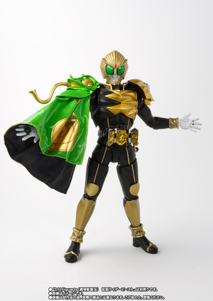 S.H.Figuarts(真骨彫製法) 仮面ライダービースト マントセット 07