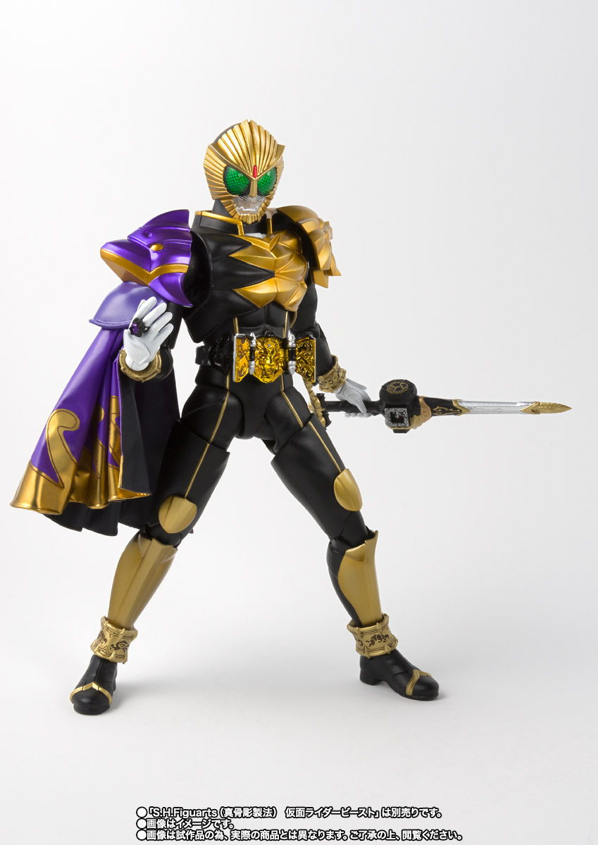 S.H.Figuarts(真骨彫製法) 仮面ライダービースト マントセット 09