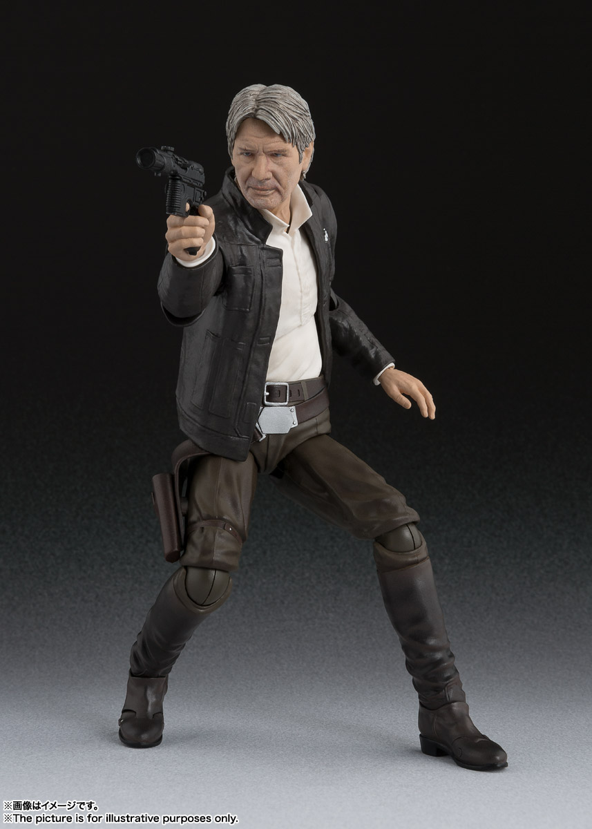 S.H.Figuarts ハン・ソロ(STAR WARS: The Force Awakens) 01
