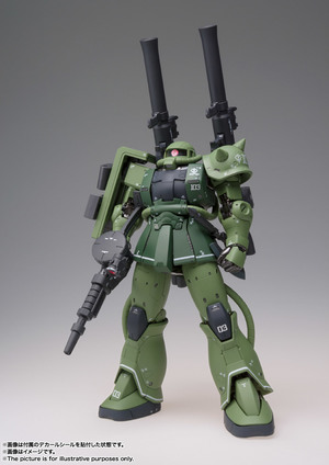 GUNDAM FIX FIGURATION METAL COMPOSITE MS-06C ザクII C型 03