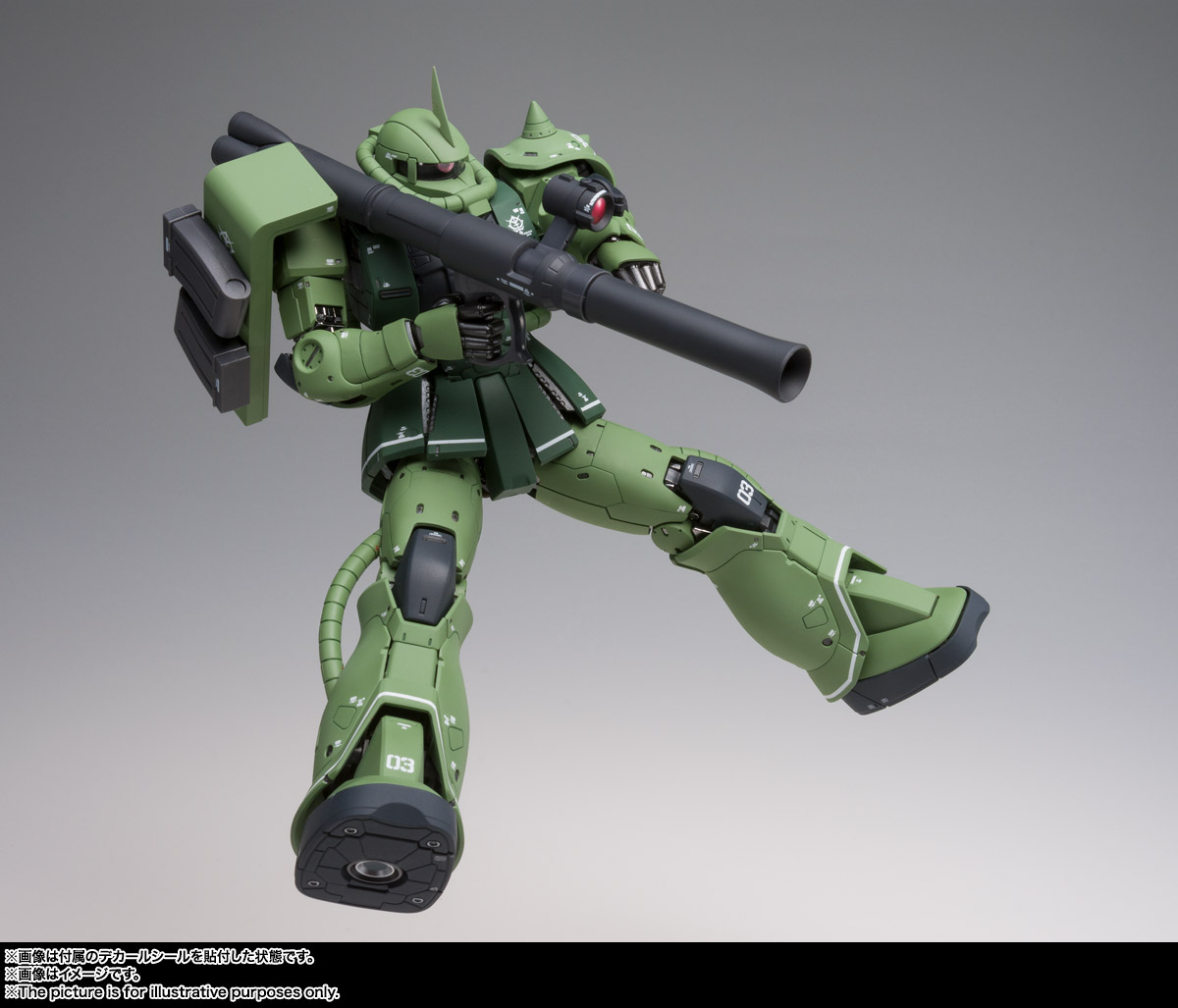 GUNDAM FIX FIGURATION METAL COMPOSITE MS-06C ザクII C型 05
