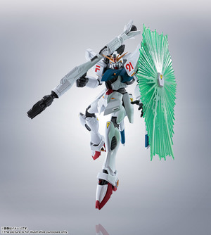 ROBOT魂 <SIDE MS> ガンダムF91 EVOLUTION-SPEC 01
