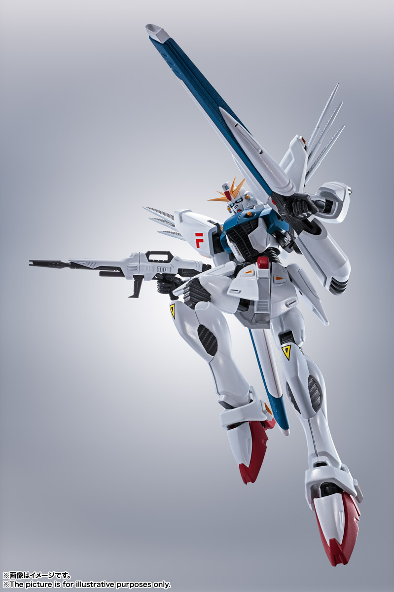 ROBOT魂 <SIDE MS> ガンダムF91 EVOLUTION-SPEC 04