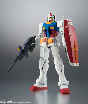 ROBOT魂 <SIDE MS> RX-78-2 ガンダム ver. A.N.I.M.E. [BEST SELECTION] 01