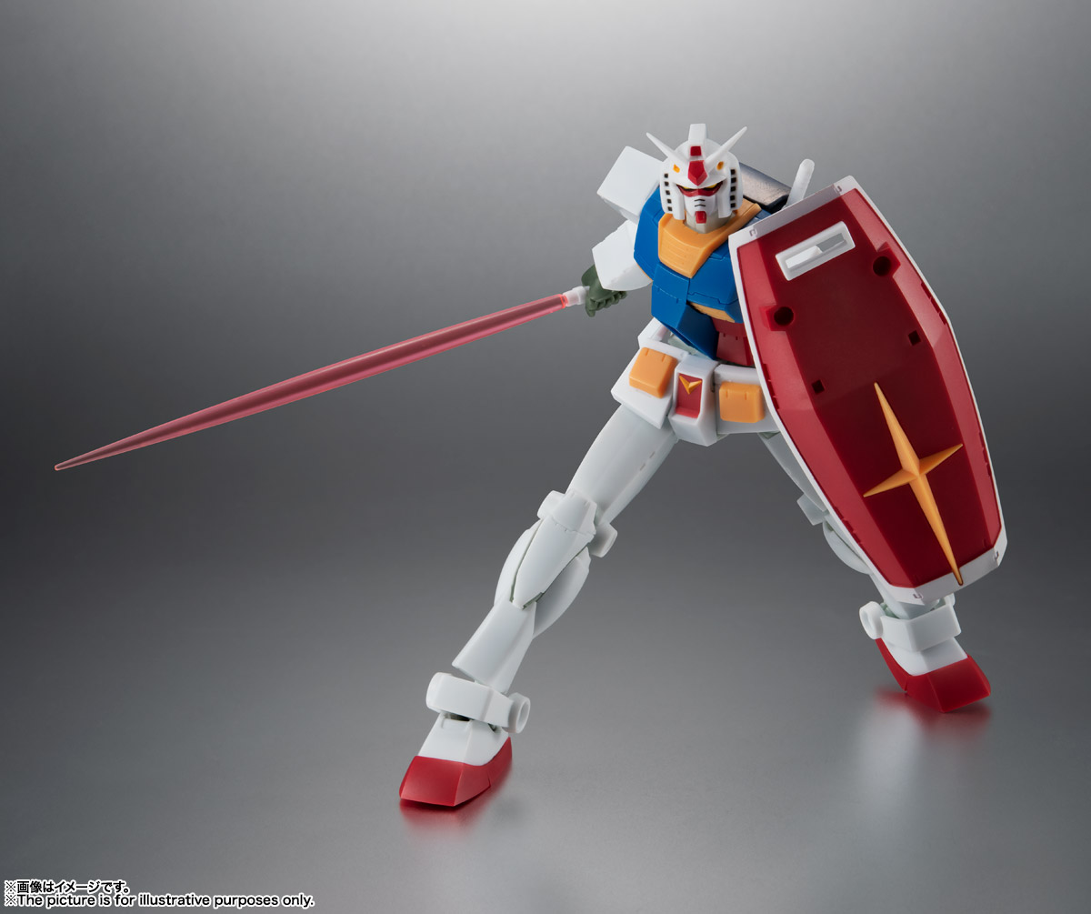 ROBOT魂 <SIDE MS> RX-78-2 ガンダム ver. A.N.I.M.E. [BEST SELECTION] 03