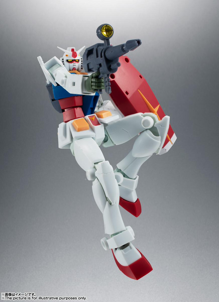 ROBOT魂 <SIDE MS> RX-78-2 ガンダム ver. A.N.I.M.E. [BEST SELECTION] 05