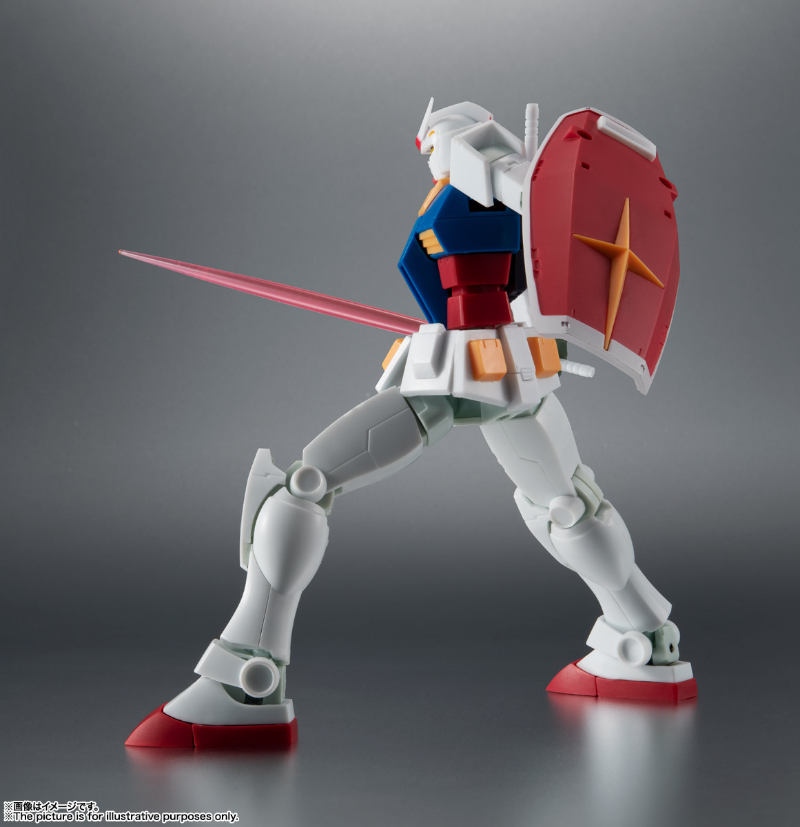 ROBOT魂 <SIDE MS> RX-78-2 ガンダム ver. A.N.I.M.E. [BEST SELECTION] 06