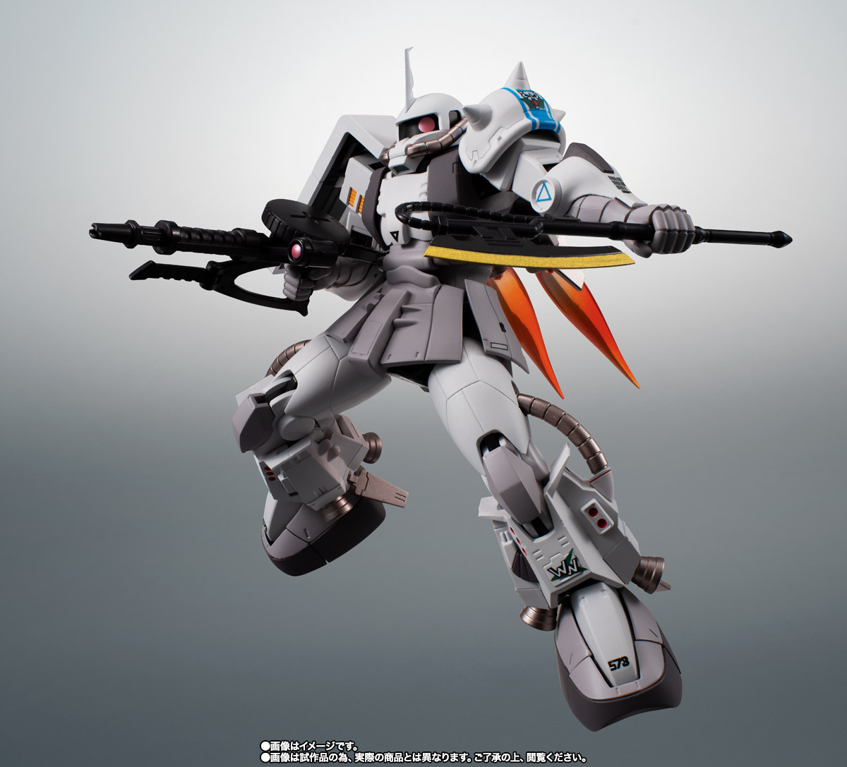 ROBOT魂 <SIDE MS> MS-06R-1A シン・マツナガ専用高機動型ザクII ver. A.N.I.M.E. 07