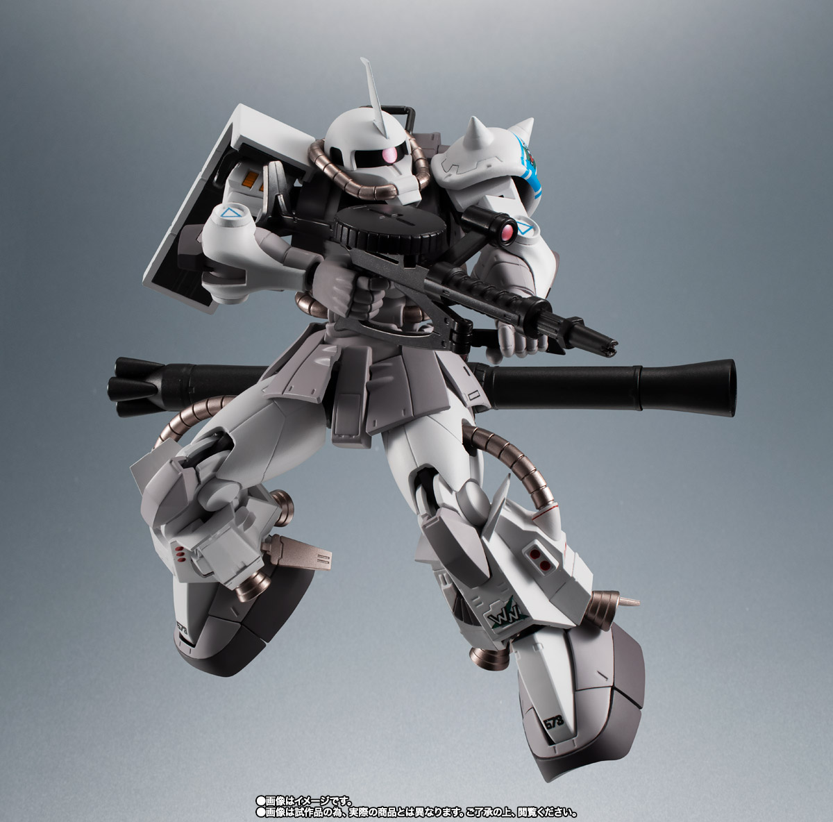 ROBOT魂 <SIDE MS> MS-06R-1A シン・マツナガ専用高機動型ザクII ver. A.N.I.M.E. 09