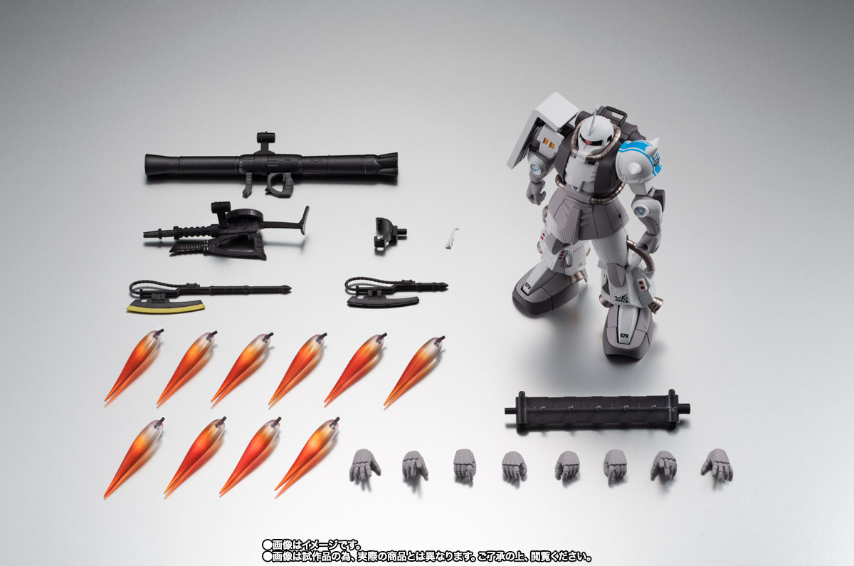 ROBOT魂 <SIDE MS> MS-06R-1A シン・マツナガ専用高機動型ザクII ver. A.N.I.M.E. 10