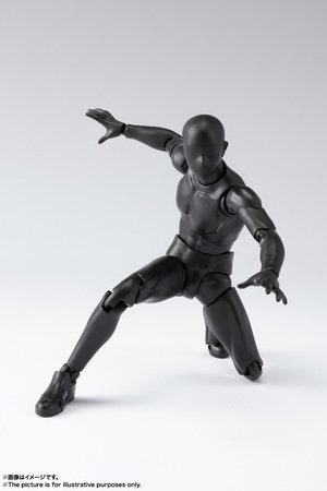 S.H.Figuarts ボディくん DX SET 2( Solid black Color Ver.) 04