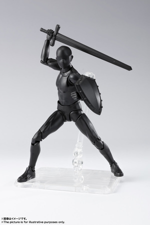 S.H.Figuarts ボディくん DX SET 2( Solid black Color Ver.) 05