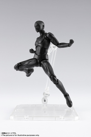 S.H.Figuarts ボディくん DX SET 2( Solid black Color Ver.) 10