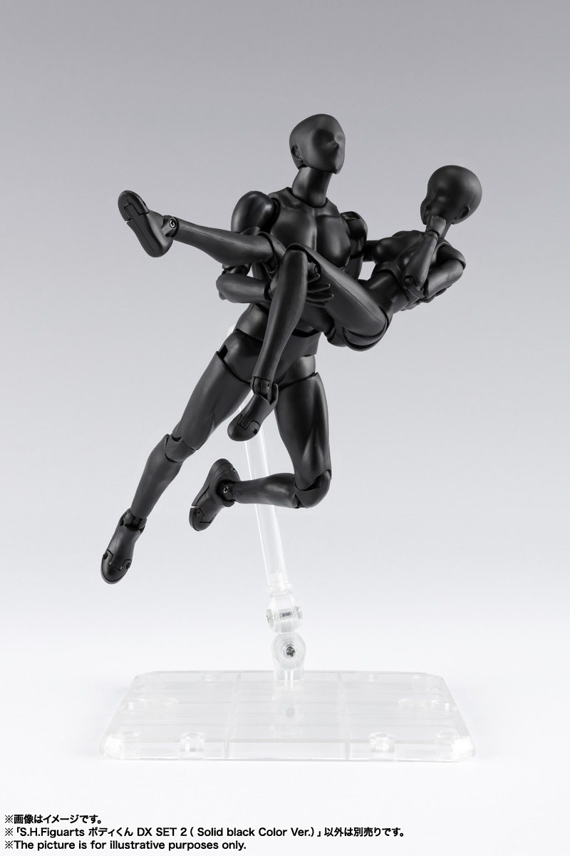 S.H.Figuarts ボディくん DX SET 2( Solid black Color Ver.) 11