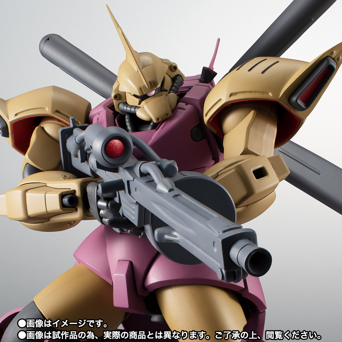 ROBOT魂 ver. A.N.I.M.E. <SIDE MS> MS-14Fs ゲルググM指揮官機(シーマ・ガラハウ機) ver. A.N.I.M.E. 01
