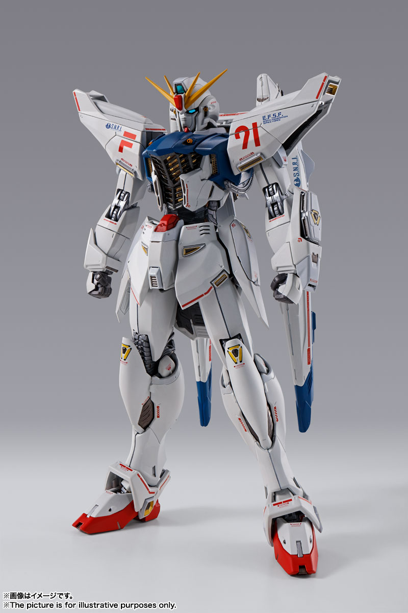 METAL BUILD ガンダムF91 CHRONICLE WHITE Ver. 01