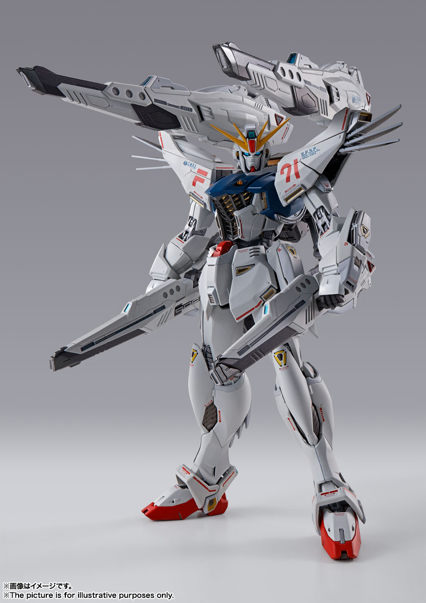 METAL BUILD ガンダムF91 CHRONICLE WHITE Ver. 04