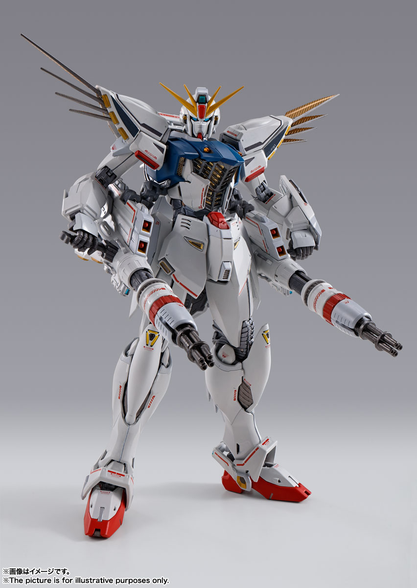 METAL BUILD ガンダムF91 CHRONICLE WHITE Ver. 05